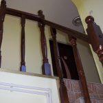 Balustrada frasin, culoare wenge