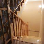 Placare beton cu trepte frasin